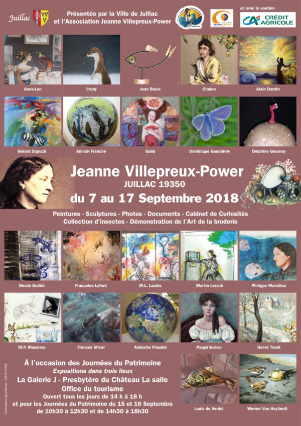 Affiche Exposition Juillac 2018