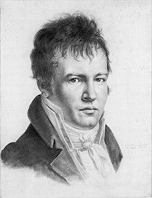 Autoportrait Alexander von Humboldt